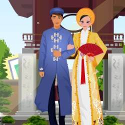 Vietnam Costume Dress Up Game