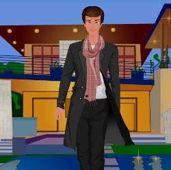 Male Dress Up Game