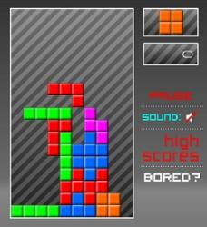 Retro Blocks Game