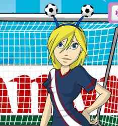 World Cup 2010 Dress Up Game