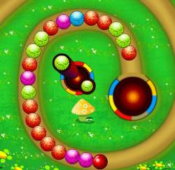 Bursting Balls Game