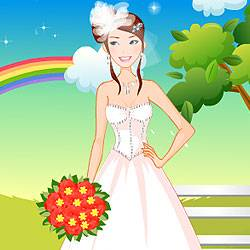 Countryside Bride Dress Up Game