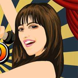 Demi Lovato Dress Up Game