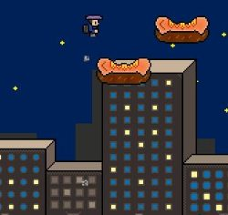 Jetpack Man Game