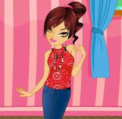 Hera Party Dress Up Game