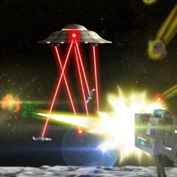 Moon Cannon Game