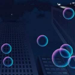 Rainbow Bubbles Game