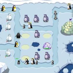 Penguin War Game