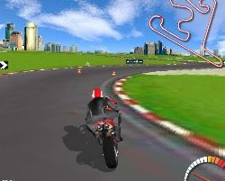 Moto Racer Game