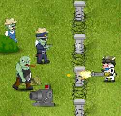 Cow vs Zombie Game