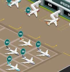 Rush Airport Game