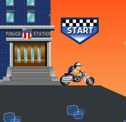 Bike Cop Adventure Game
