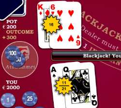 Beat Tha House Blackjack Game