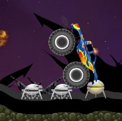 Monster Truck Galactic Game