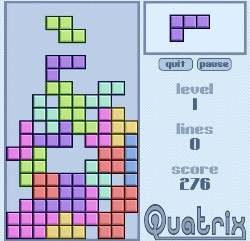 Quatrix Game