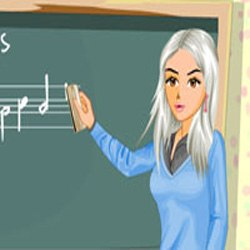 Music Teacher Fashion Styling Game