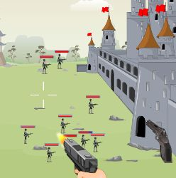 Defend Castle Game