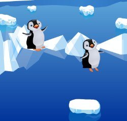 Penguin Jump Game