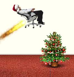 Rocket Man Christmas Edition Game