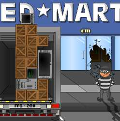 Robbery Physics Game