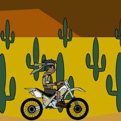 Desert Bike 2 Game