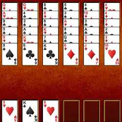Eight Off Solitaire Game