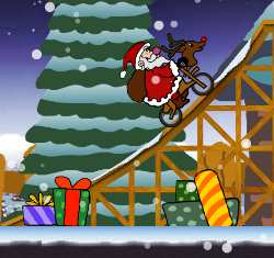 Christmas BMX Game