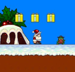 Santa and the Ghost of Christmas Presents Game