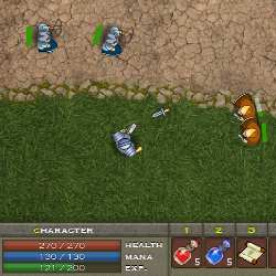 King's Mercenaries Game