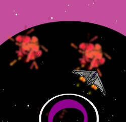 Orbital Disruption Game