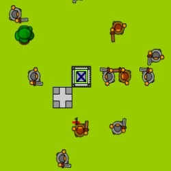 Click Tower Defense Game