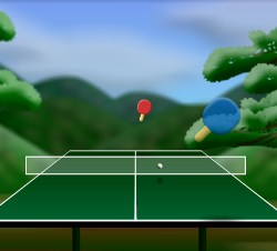 Table Tennis 2.5D Game