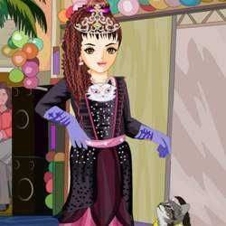 Kitty Cat Princess Fashion Show Game