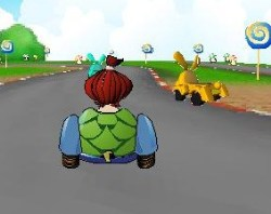 Crazy Turtle Car Racing Game