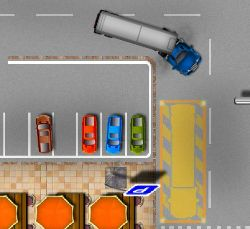Your Large Truck Parking Game