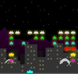Space Invaders Multiplayer Game