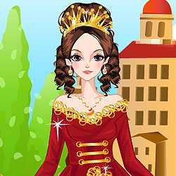 Medieval Gowns Dress Up Game