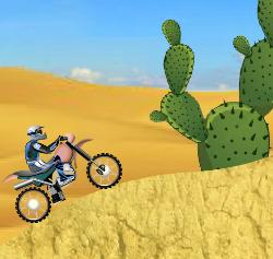 Desert Bike Game