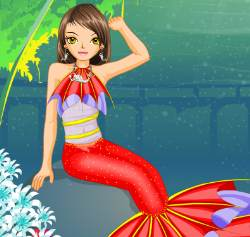 Mermaid Dress Up And Styling Game