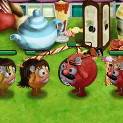 Smileys Wars - Battle in the Kitchen Game