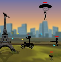 Eiffel Attack Game