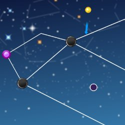 Constellations Bouncing Game