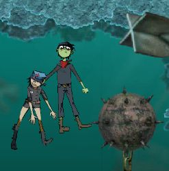Gorillaz Escape To Plastic Beach Game