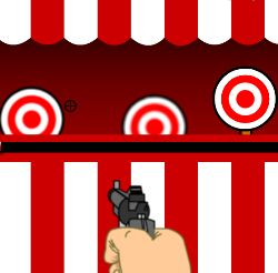 Bullseye Shooter Game