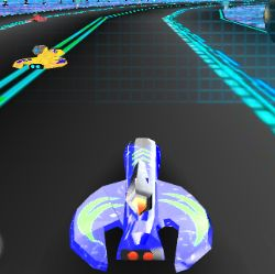 GAIA Galactic Racing Game