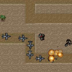 Desert Base Defense Game
