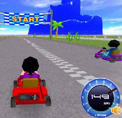 Super Kart 3D Game