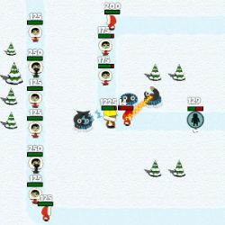 Antarctic Defense Game