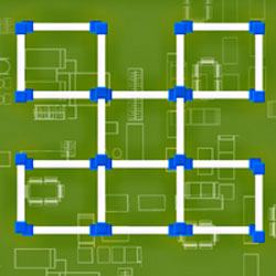 Square Pipes Game