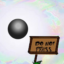 Do Not Press The Black Button Game